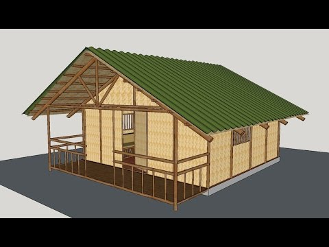 Making a Bamboo House