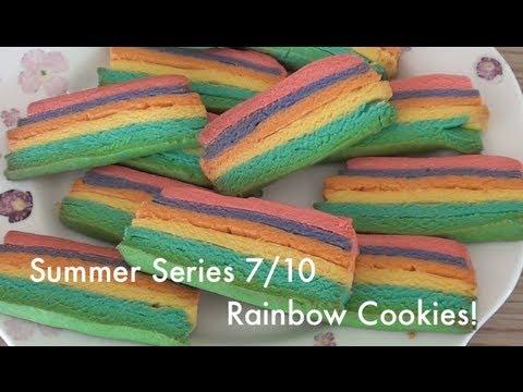Summer Series | 7/10 Homemade Rainbow Cookies! | VEDA DAY 24