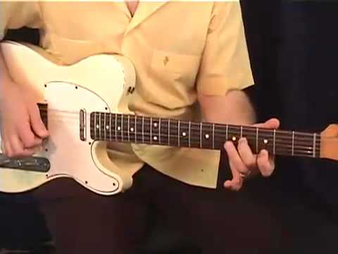 HOT COUNTRY TELECASTER LICKS IN