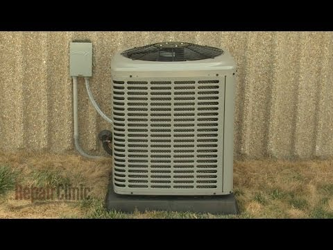 York Central Air Conditioner Disassembly - Repair Help