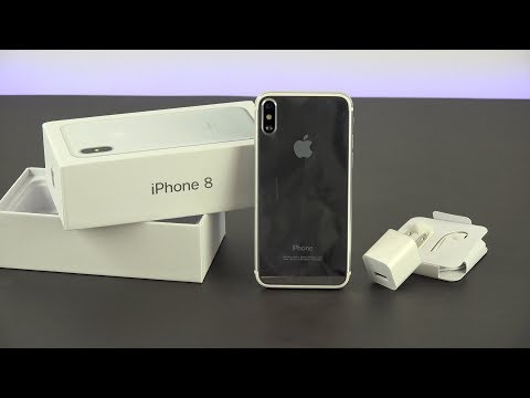 Apple iPhone 8 Unboxing & First Impressions   iPhone 8 Plus/ iPhone X Unboxing