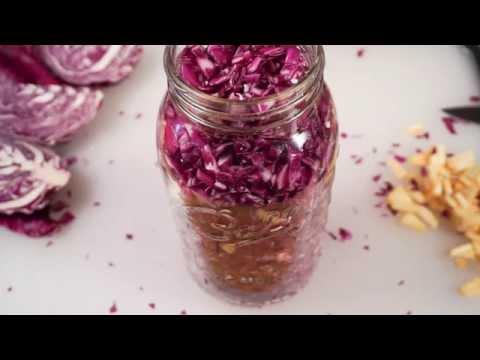Authentic Lacto-fermented Sauerkraut