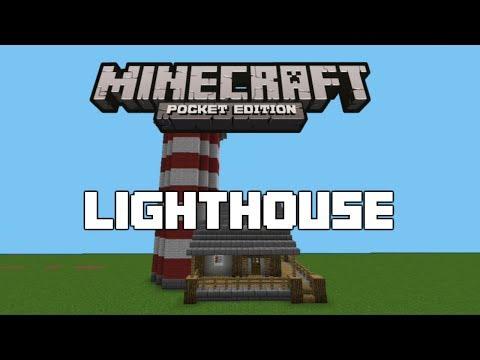 Minecraft PE : Lighthouse Tutorial
