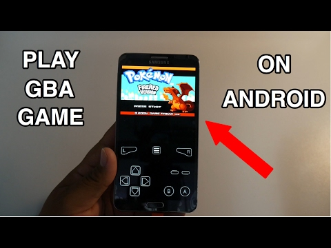 Play Any GBA Game On Android (GBA EMULATOR)