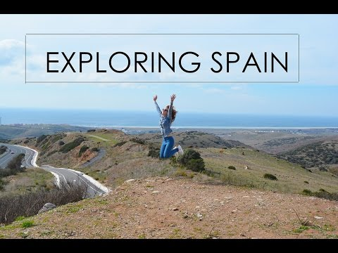 Travel Vlog: Explore Spain (Malaga, Marbella, Gibraltar, Tarifa) HD