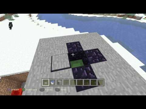Minecraft ps4 - Comment faire un téléporteur !!!