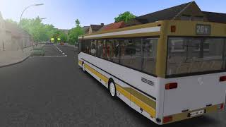 OMSI 2 Gameplay - Fic  Szczecin L865 - Mercedes-Benz O405N2 by
