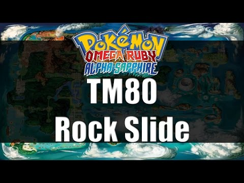 Pokemon Omega Ruby & Alpha Sapphire | Where to get TM80 Rock Slide
