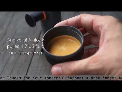 MiniPresso | Portable Coffee Maker