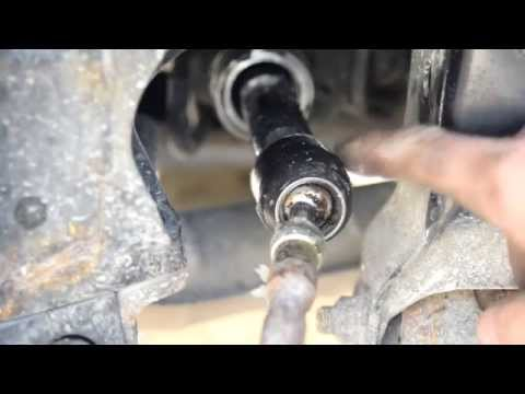 How To   Change Tie Rods, Inner and Outer on and Subaru