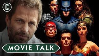 Zack Snyder Was Reportedly Fired from Justice League - Movie Talk