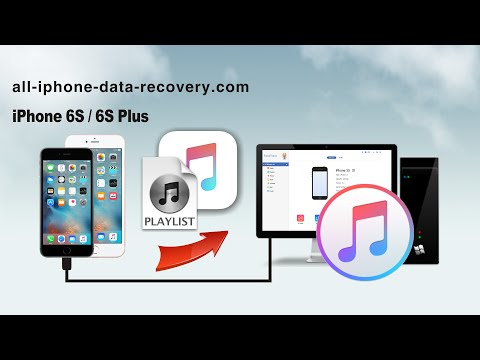How to Sync Music & Playlist from iPhone 6S/6S Plus to iTunes, Transfer iPhone Songs to iTunes