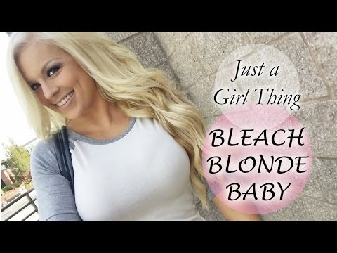 My Hair Color Routine - Bleach Blonde Baby