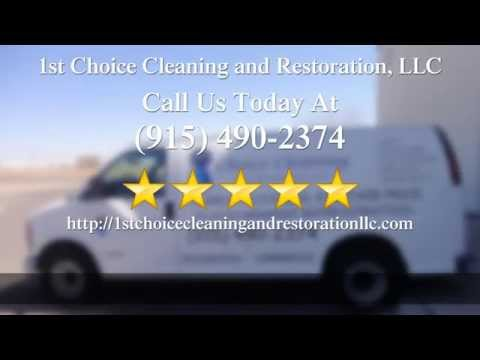 1st Choice Cleaning and Restoration, LLC El Paso  Perfect  5 Star Review by Randy S.