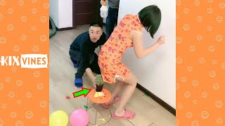 Funny videos 2021 ✦ Funny pranks try not to laugh challenge P189