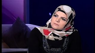 #x202b;للنشر -  فاطمة حمزة تردُّ على زوجِها في أول إطلالةٍ بعد خروجِها من السجن#x202c;lrm;