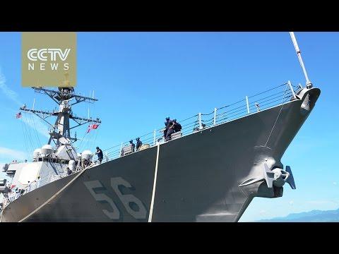US warships make landmark visit to strategic Vietnam port