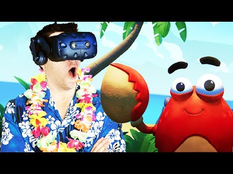 VIRTUAL REALITY ISLAND SURVIVAL! - Island Time VR Gameplay - VR HTC Vive Pro
