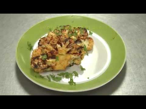 Savory Cauliflower Steak