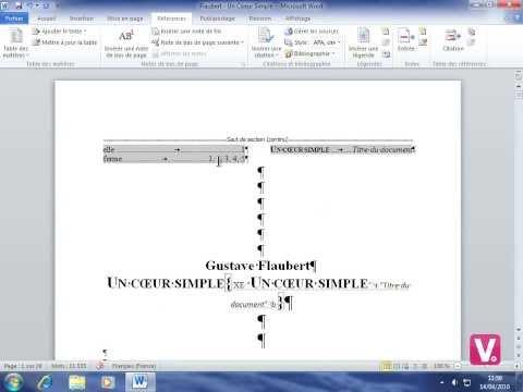 Formation Word 2010 - 77-Créer un index
