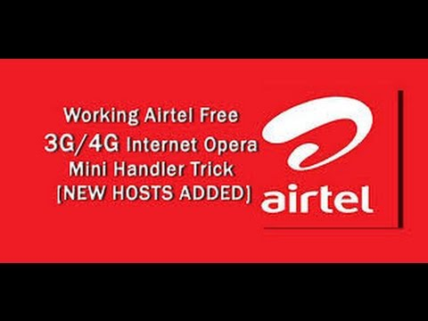 Airtel 3G/4G free Internet Trick on Android [ letest & New Trick with 1 Mbps Speed]