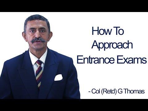 How To Approach Entrance Exams (SSB / NDA / CDS / AFCAT / ACC / PABT)