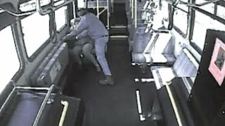 Watch How This Brave Driver Saved An Elderly Woman Being Attacked By Man On Bus
