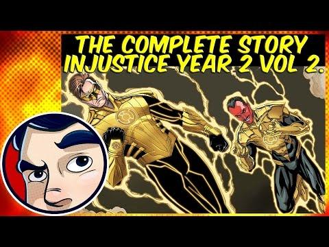 Injustice Gods Among Us Year 2 Vol.2 ( Yellow Lantern Hal Jordan ) - Complete Story