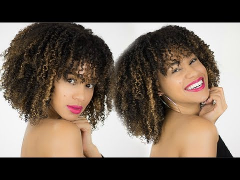 Honey Blonde Hilights: How To Balayage Curly Hair