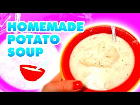 Homemade Potato Soup ~ Large Family Style!