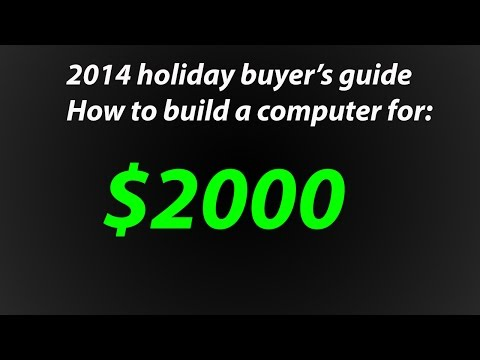 How To Build The Best Intel Gaming Computer With SLI For $2000 - December 2014