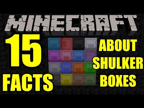 15 Facts about Shulker Boxes! | New Minecraft 1.11 Update! Snapshot Tutorial