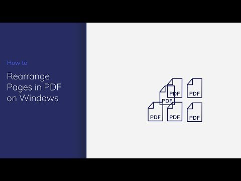 Rearrange Pages in PDF on Windows with PDFelement