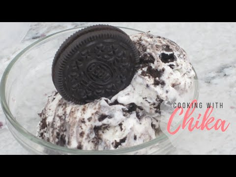 Cookies & Cream Ice Cream - How to make Oreo Ice Cream Recipe | Borrowed Delights - Episode 20