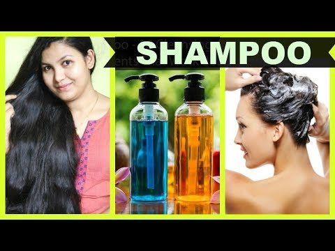 Homemade HERBAL Natural Shampoo/GET LONG HAIR,THICK HAIR,SHINY HAIR,HEALTHY HAIR EASILY