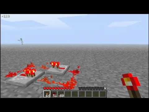 [Tutorial]Minecraft Redstone Repeater Clock 1-8 Ticks [STABLE]
