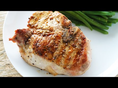 How to Cook A Thick Cut Pork Chop