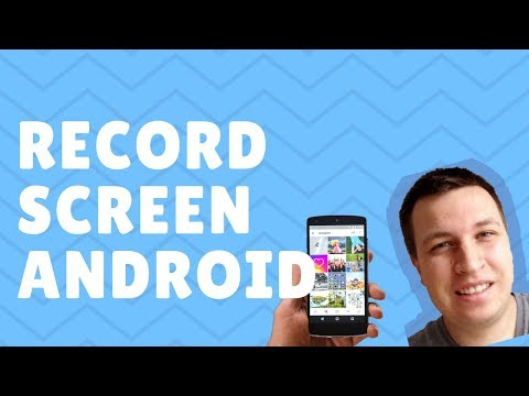 How to RECORD SCREEN (and audio) for Android? FREE