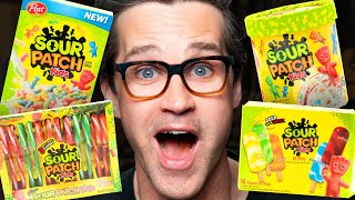Every Sour Patch Kids Product Taste Test