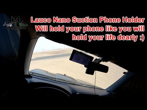 Simply The Best Phone Holder Ever Lauco Nanosuction Phone Holder