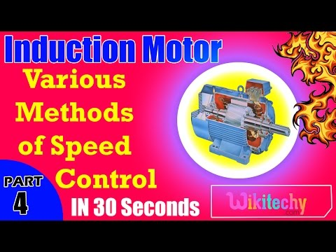 Various Methods of Speed Control in Three Phase Induction Motors | Induction Motor