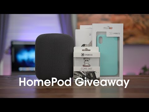 Apple HomePod Giveaway from CaseCo x 9to5Mac [Sponsored]