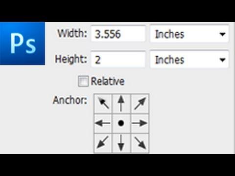60 Second Photoshop Tutorial : Change Canvas Size -HD-