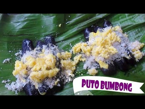 Puto Bumbong Without A Bamboo Steamer I Sticky Rice Cake