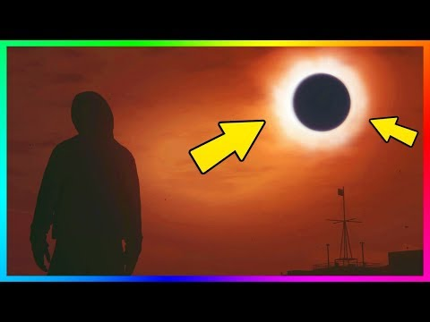 GTA 5 Online - How To Get A Very Rare & Scary Weather Event In GTA Online Free Mode Lobbies! (GTA 5)