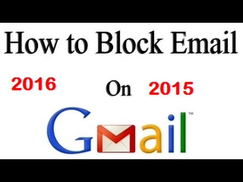 How To Block Emails On Gmail In Hindi/urdu