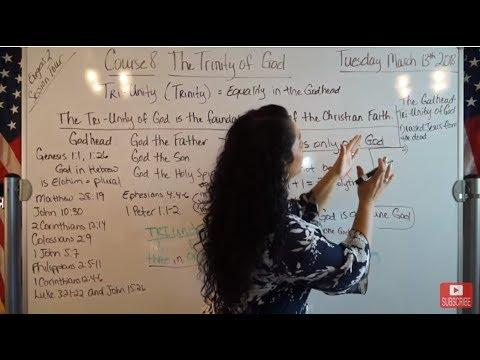 EMOAF S.O.M Back To Basics | Theology Exegesis Two: Course 8: The Trinity of God