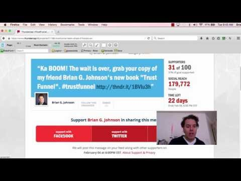 Help Support the Launch of Trust Funnel by Brian G. Johnson
