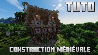 Full Hd Minecraft Tuto Maison Médiéval Direct Download And