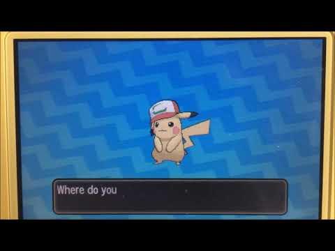 Ash's Special Pikachu event